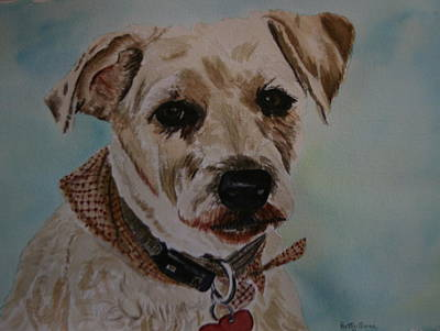 Painting - Molly by Betty-Anne McDonald