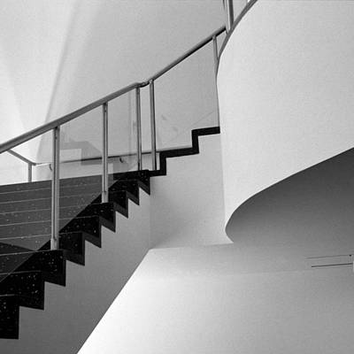 Photograph - Moma Stairs 4 by Cornelis Verwaal