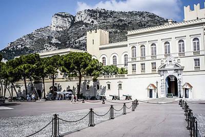 Monaco Palace Original by Chris Smith