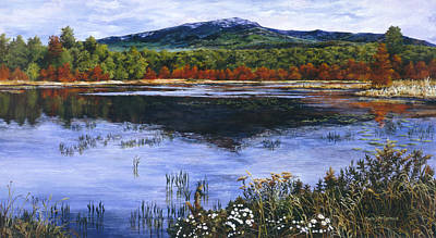 Mt. Monadnock Painting - Monadnock by Marla J McCormick