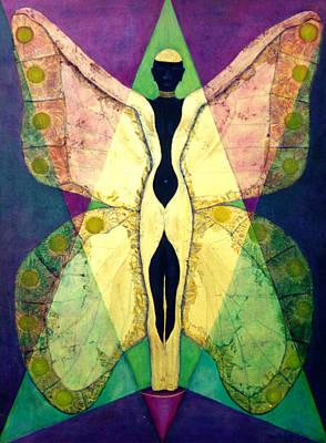 Painting - Monarcha by Claudette Dean