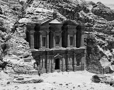Monastery Of Petra Art Print