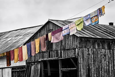 Photograph - Monday Wash by Denis Lemay