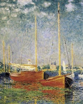 Monet, Claude 1840-1926. Argenteuil Art Print by Everett