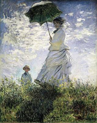 Impressionism Photograph - Monet, Claude 1840-1926. Woman by Everett