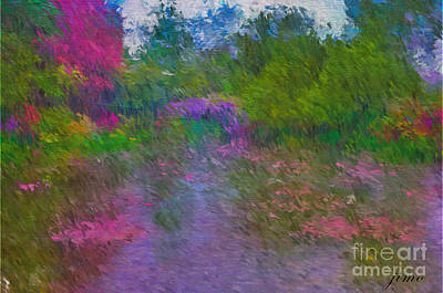 Photograph - Monet's Lily Pond by Jim Hatch
