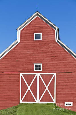 Photograph - Monitor Barn by Alan L Graham