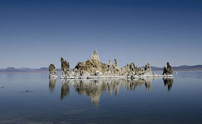 Monolake Photograph - Mono Lake  by Patricia Dennis