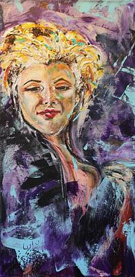 Painting - Monroe by Lucy Matta - LuLu