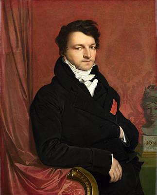 Painting - Monsieur De Norvins by Jean-Auguste-Dominique Ingres