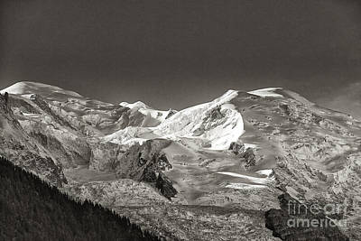 Mont Blanc Group Art Print by Juergen Klust