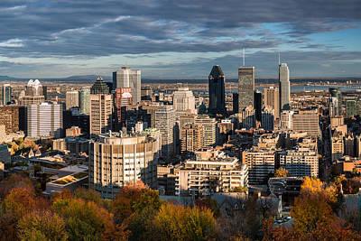Montreal Landmarks Photograph - Mont Royal by Mihai Andritoiu