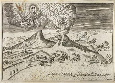 Monte Vesuvio Art Print