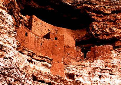 Photograph - Montezuma's Castle by Robert  Rodvik