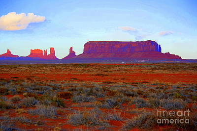 Photograph - Monument Valley by Julie Lueders