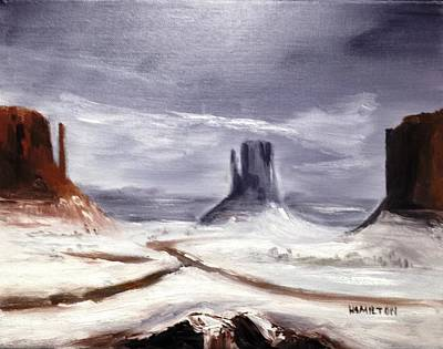 Painting - Monument Valley by Larry Hamilton