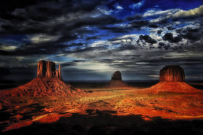 Truck Art Rights Managed Images - Monument Valley One Royalty-Free Image by Ingrid Smith-Johnsen