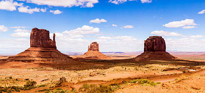 Monument Valley Panorama Art Print