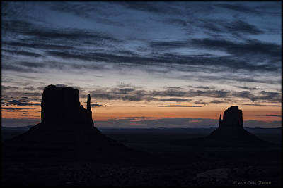 Photograph - Monument Valley Sunrise by Erika Fawcett