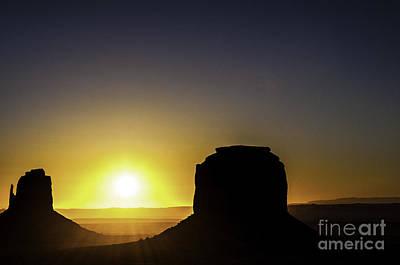 Monument Valley Sunrise Print by Thomas R Fletcher