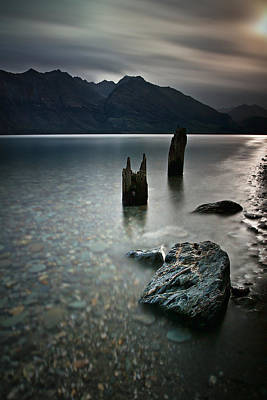 Photograph - Moods Of Wakatipu by Brad Grove