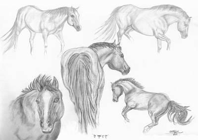 Drawing - Moods Of Zip by Cheryl McKeeth