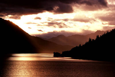 Photograph - Moody Brown Lake by Robert  Rodvik