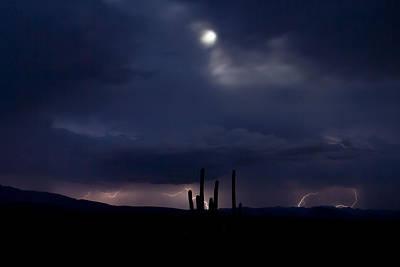 Moon Sky Original by Cathy Franklin