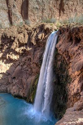 Photograph - Mooney Falls, Arizona by Mark Newman
