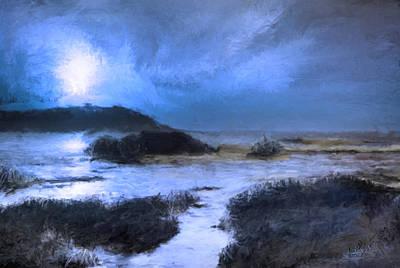 Moonlight Sonata Painting - Moonlight Sonata by Bruce Nutting