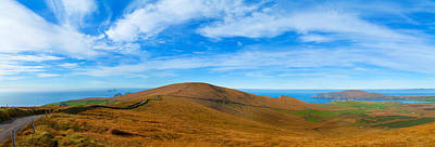 Portmagee Wall Art - Photograph - Moor Landscape Of Coomanaspig Pass by Panoramic Images