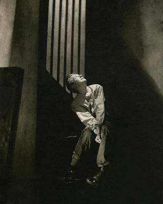 Morgan Farley As Clyde Griffiths Art Print
