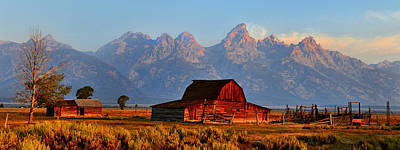Photograph - Mormon Row And The Grand Tetons  by Ken Smith