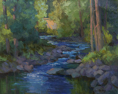 Painting - Morning At Swauk Creek by Diane McClary
