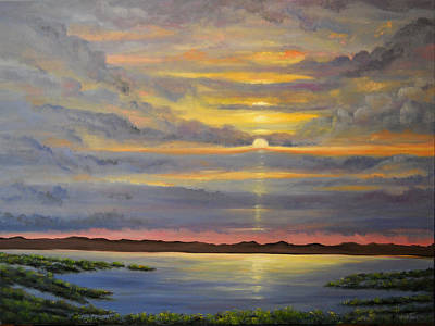Painting - Morning Has Broken by Connie Tom