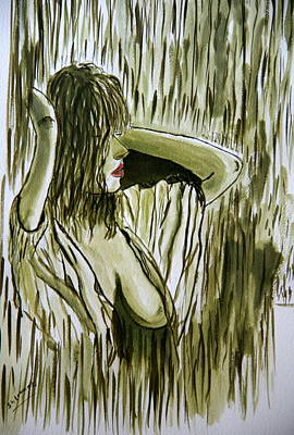 Painting - Morning Love. by Shlomo Zangilevitch