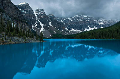 Photograph - Morning Moraine by Darren Bradley