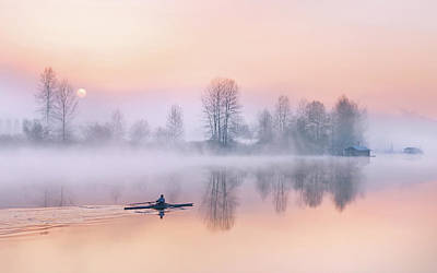 Photograph - Morning Solitude by Kasandra Sproson
