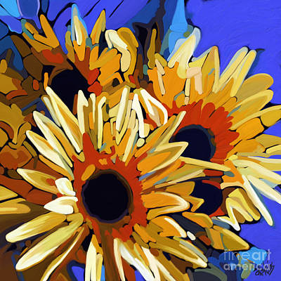 Painting - Morning Sunshine by Dorinda K Skains