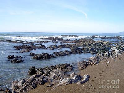 Photograph - Moro Bay California  by Haleh Mahbod