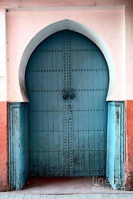 Moroccan Door Art Print by Sophie Vigneault