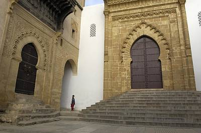 Rabat Photograph - Morocco. Sal�. Great Mosque by Everett