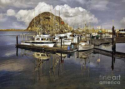 Photograph - Morro Reflection by Sharon Foster