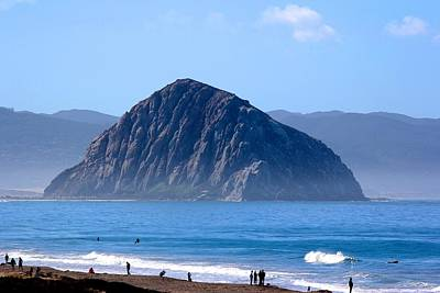 Photograph - Morro Rock by Liz Vernand