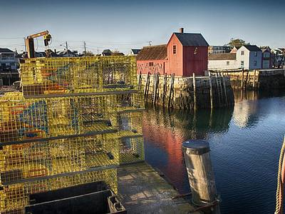 Photograph - Rockport Harbor by Pamela Hodgdon