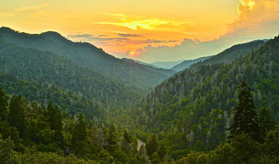 Mortons Overlook Print by Frozen in Time Fine Art Photography