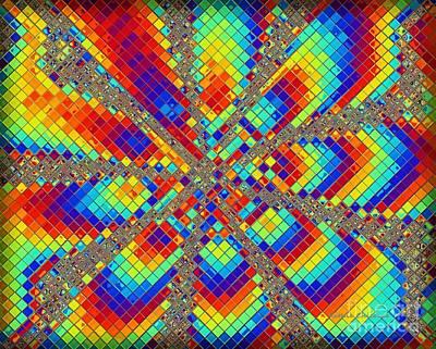 Digital Art - Mosaic by Kathie Chicoine