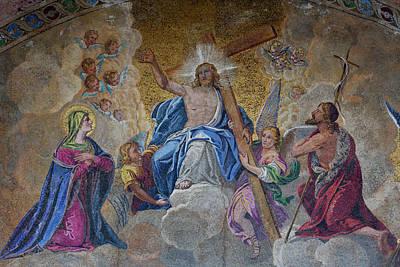 Religious Mosaic Photograph - Mosaic Religious Artwork by Darrell Gulin