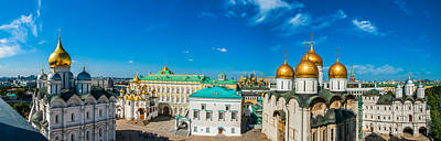 Moscow Kremlin Tour - 36 Of 70 Art Print by Alexander Senin