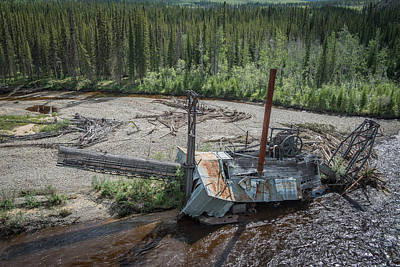 Photograph - Mosquito Fork Dredge by Roger Clifford
